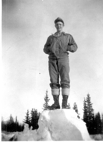 Pvt. Dewoody, Dry Creek, Alaska, Mar.1943
