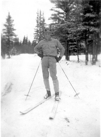 Pvt. Dewoody, Dry Creek, Alaska, Mar.1943.