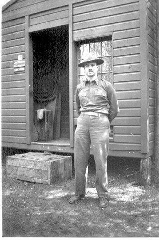 Lt. Louis M. Mattera, CE, Dry Creek, Alaska, May 1943.