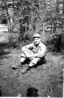 Lt. Mattera, Dry Creeki, Alaska, May1943.