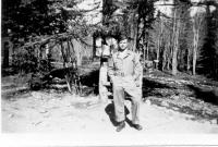 Lt Louis M. Mattera, CE, Dry Creeik, Alaska, May 1943.