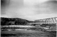 Bridge across Gulkana River, Richardson Highway, May 1943,