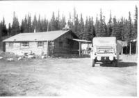 Home of Vince Joy family, Copper Center, Alaska, 1943.