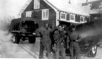 Richardson Highway Road Crew, Gakona Roadhouse, Alaska, 1943.