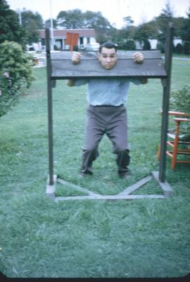 F.M in stocks. Newport Sept 1952.
