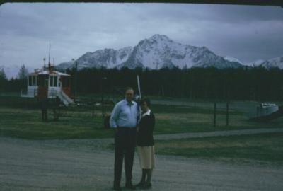 Bob and Bernice Scott visit Palmer while in Alaska.