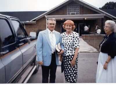 Pete and Jean Boiko at home in Woodbury, Tennessee, 1990.  (Pete passed away recently.)